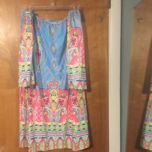 Dresses & Skirts - NWOT pastel off the shoulder dress